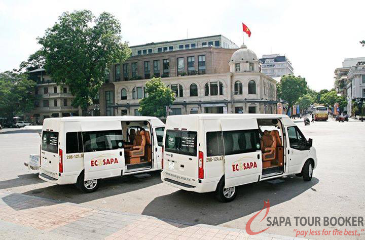 sapa bus ticket - ecosapa limousine